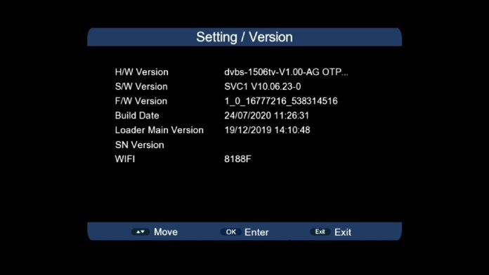 1506lv to 1506tv converted software SVC1 V10.06.23 222