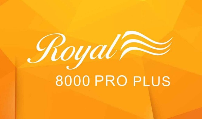 ROYAL8000 PRO PLUS SCB4 V10.08.22 New Software