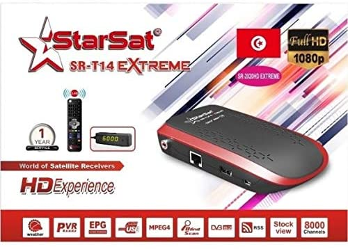 StarSat T14 EXTREME NEW SOFTWARE