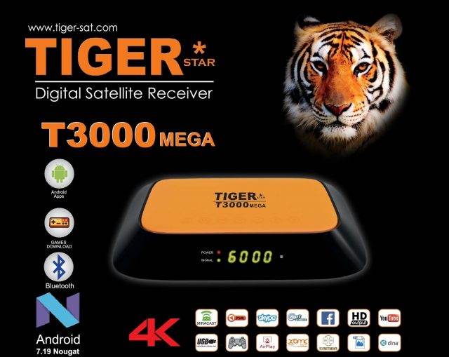TIGER T3000 MEGA NEW SOFTWARWE