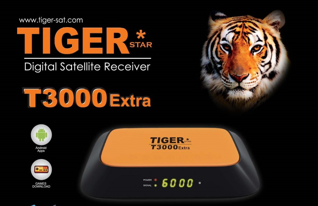 TIGER T3000 EXTRA NEW SOFTWARWE