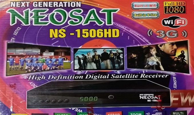 Neosat NS-1506HD 1506tv Built-in wifi new software SCB4 V10.08.22
