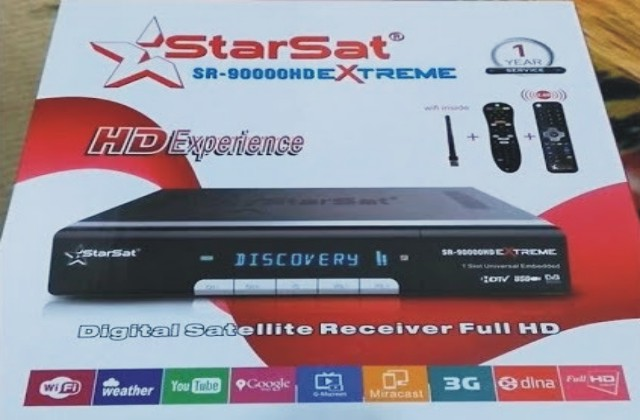 StarSat SR 90000HD EXTREME NEW SOFTWARE