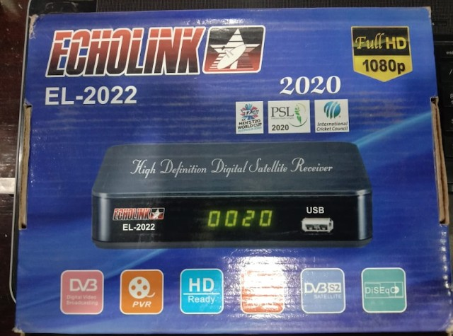 ECHOLINK EL-2022 1506LV NEW SOFTWARE