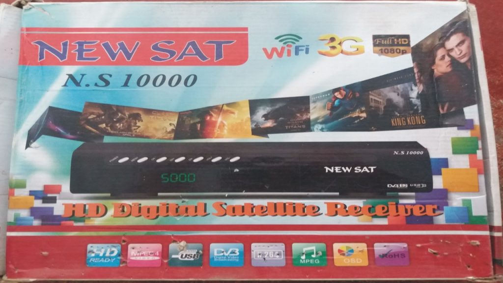 New Sat N.S 10000 HD RECEIVER RESTART & HANG PROBLEM SOFTWARE