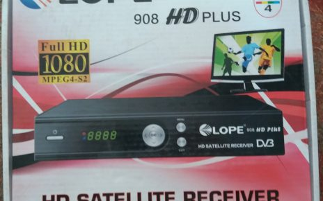 LOPE 908 HD PLUS HD RECEIVER DUMP FILE