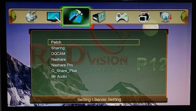 REDVISION P12 HD RECEIVER NEW SOFTWARE 5