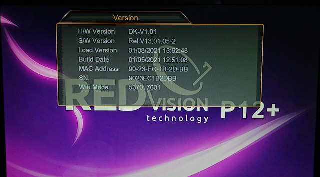 REDVISION P12 PLUS HD RECEIVER NEW SOFTWARE1