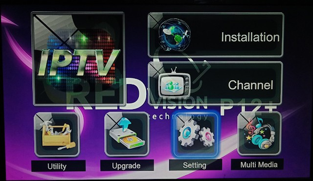 REDVISION P12 PLUS HD RECEIVER NEW SOFTWARE
