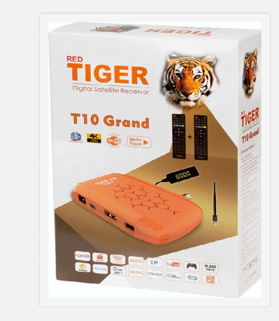 Red Tiger T10 Grand New Software