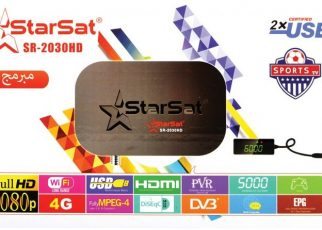 StarSat SR-2030HD New Software