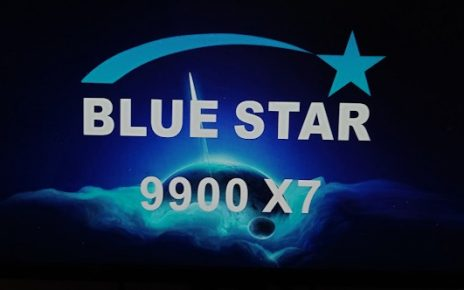 BLUE STAR 9900 X7 1506TV 8M BUILT IN WIFI NEW SOFTWARE