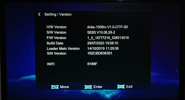 BLUE STAR 9900 X7 1506TV 8M BUILT IN WIFI NEW SOFTWARE3