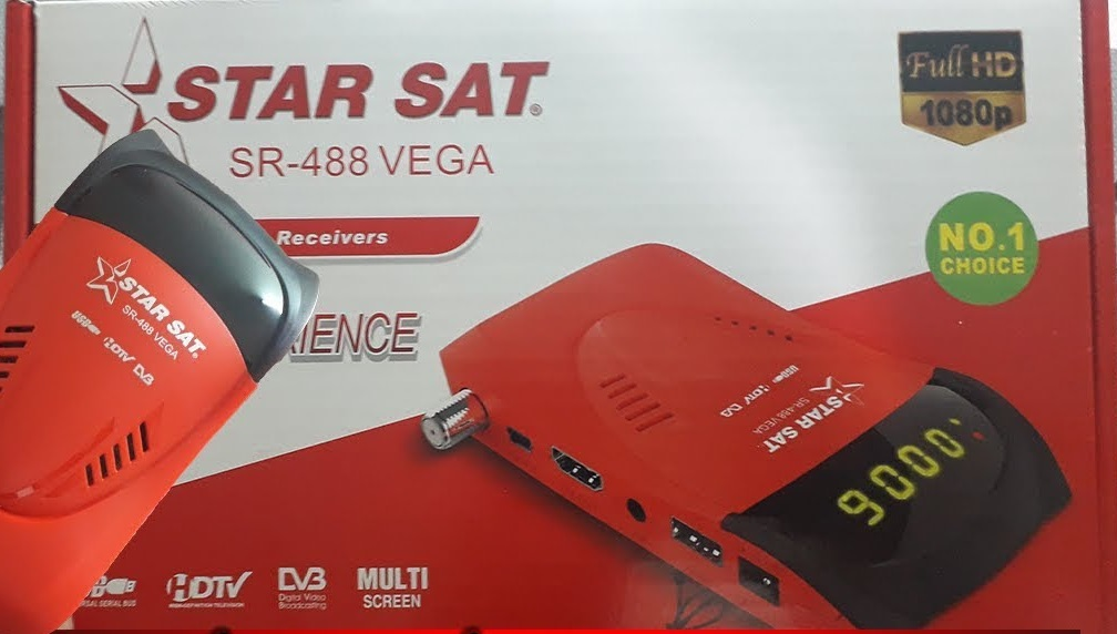StarSat SR-488-VEGA New Software