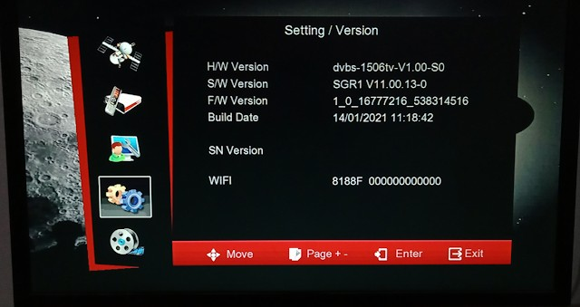 7 STAR 1506TV 512 4M BUILT IN WIFI NEW SOFTWARE