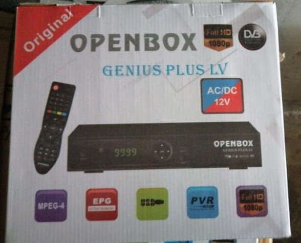 OPENBOX GENIUS PLUS 1506LV 1G 8M NEW SOFTWARE