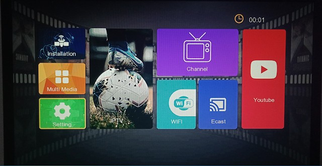 STARNET 9000 1506TV 512 4M NEW SOFTWARE