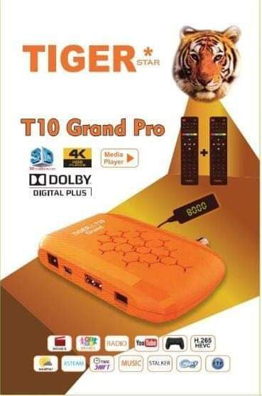 Tiger T10 Grand Pro New Software