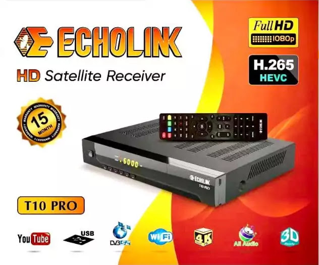 ECHOLINK T10 PRO NEW SOFTWARE V1.011