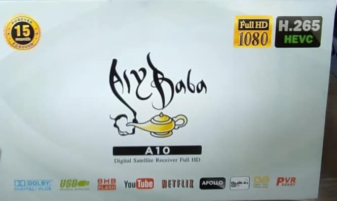 ALY BABA A10 RECEIVER SOFTWARE UPDATE DOWNLOAD